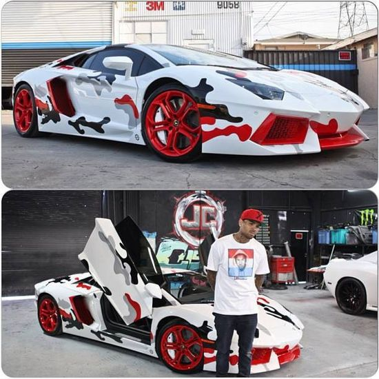 Thoughts on Chris Brown's Lamborghini Aventador?!