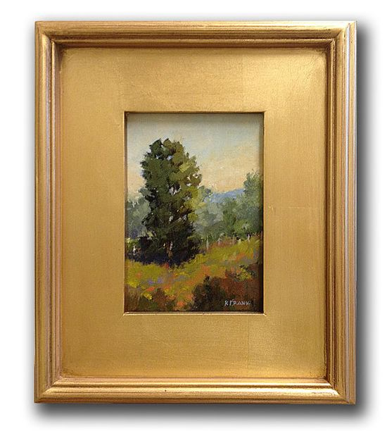 A Touch of Purple  Original Landscape Oil Painting  by RobertsArt, $125.00