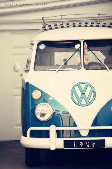 Love the old VW vans.