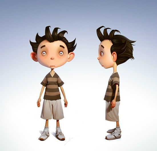 3D Character Design #3d character #3d char