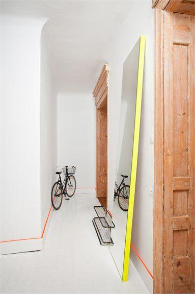 Annvil`s interior design office - Riga, Latvia - 2012 - annvil.lv #design #creativity #interiors #colors #neon
