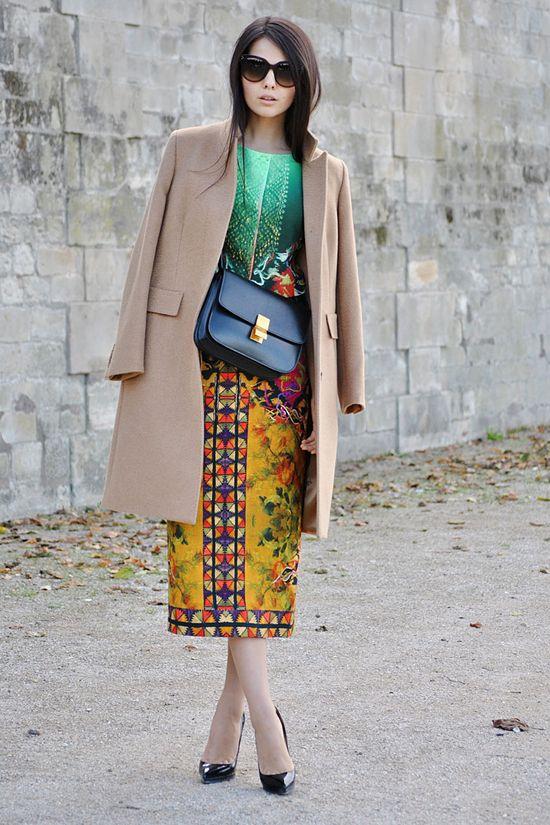The perfect camel coat.