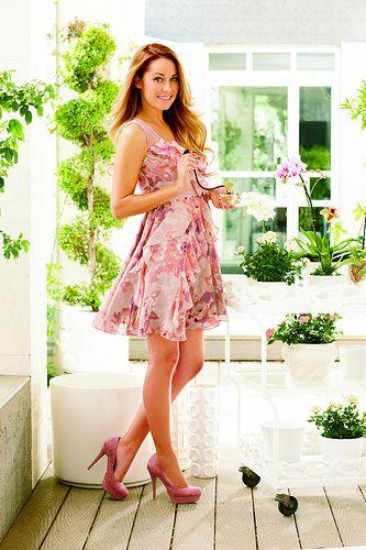LC Lauren Conrad collection Ruffles & Tulle Dress #fashion