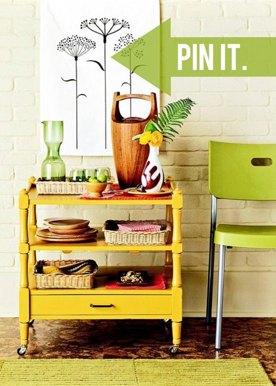 Michael, from Inspired by Charm, shows you how to decorate your bar cart! See the full post on Style Spotters: www.bhg.com/...