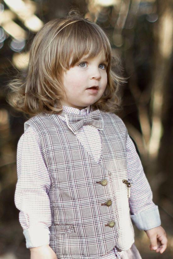 Vintage Page Boy Vest & Bow Tie
