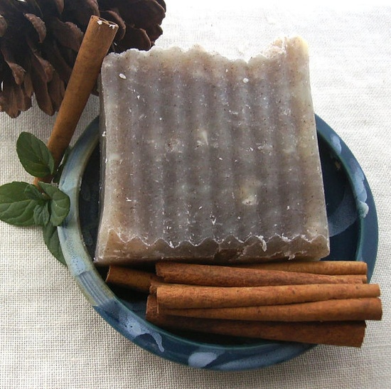 Cinnamon Mint Soap Smells Awesome #vegan #handmade