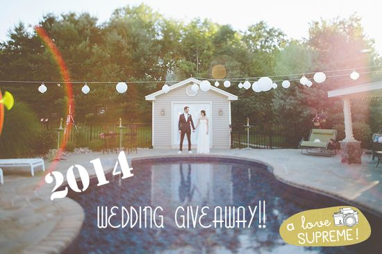 FREE wedding photography giveaway
