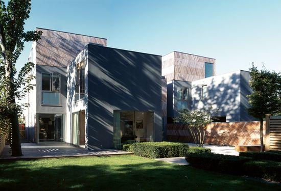 alison brooks architects / herringbone houses, wandsworth south london