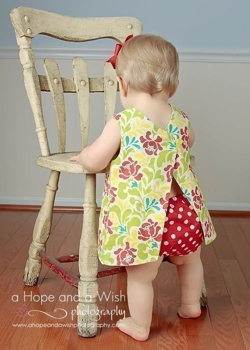Baby Girl Sewing Pattern PDF Reversible Dress with by tiedyediva. $8.00, via Etsy.