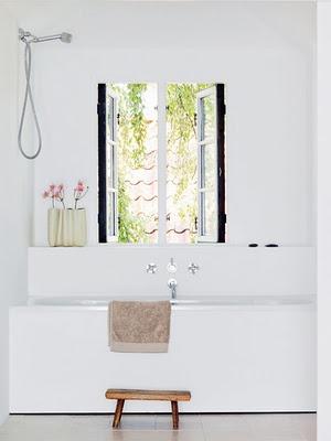 #Interiors #Bathroom #white
