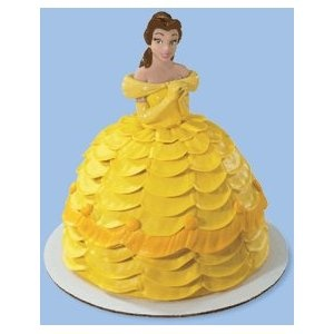 Belle birthday cake!