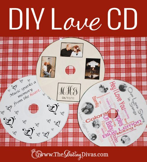 Relive moments of your relationship through music. Find songs that remind you of special moments: your first date, your engagement, etc. and make a love CD.  www.TheDatingDiva... #music #date #diy