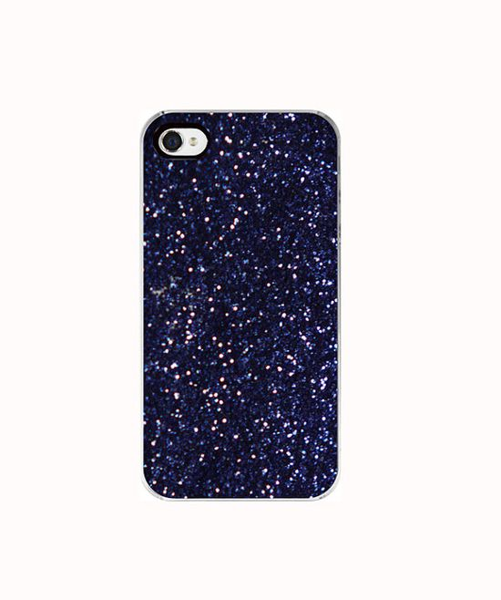 Iphone 4s Case glitter iphone case purple girly by dullbluelight, $30.00
