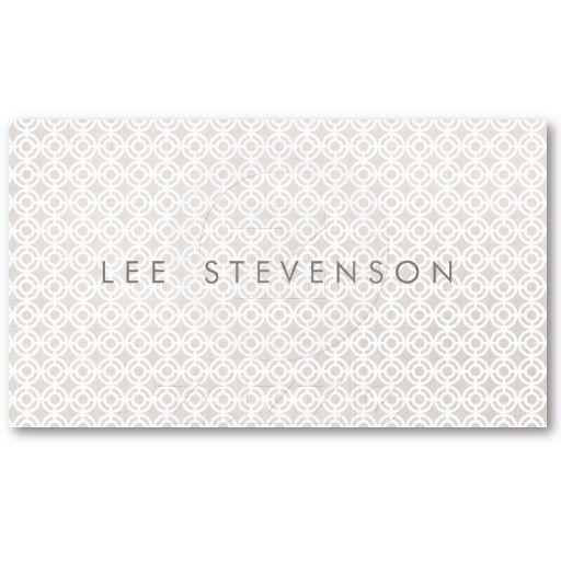Chic Interior Designer  Business Card