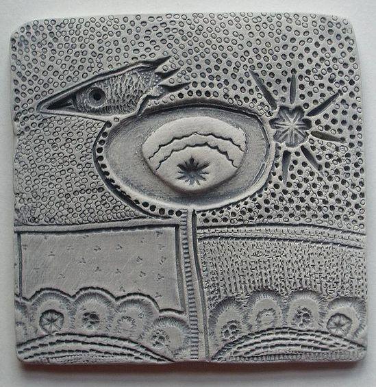 Clay tile.