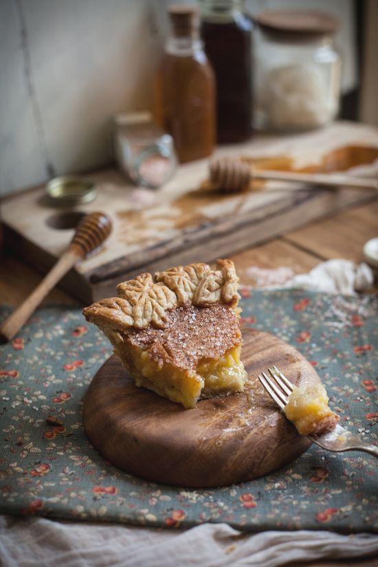 Salted Rose & Honey Pie