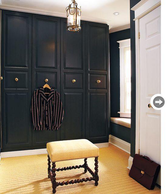 enormous closet. understated design.