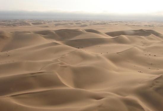 Las dunas del Namib en Skeleton Coast