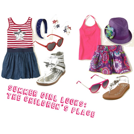 Fun Summer Looks For Girls.  Let her shine bright this summer!  #Fashion #GirlsFashion #Clothing #Summer