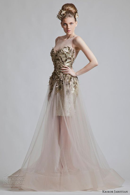"Krikor Jabotian's Fall/Winter 2012-2013 collection, ""Chapter One"""