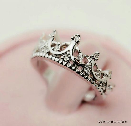 Love this ring. Can't walk around with a crown on my head might as well wear one on my finger. Ha! @Reis-Nichols Jewelers