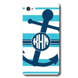 Such a cute iPhone case. Love the anchor!! Needs some orange ;)