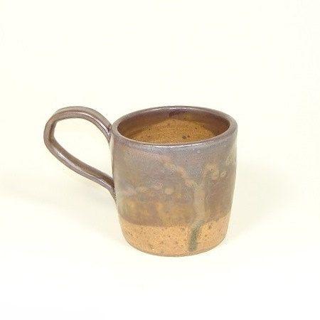 Brown and Gold  Handmade Pottery Mug