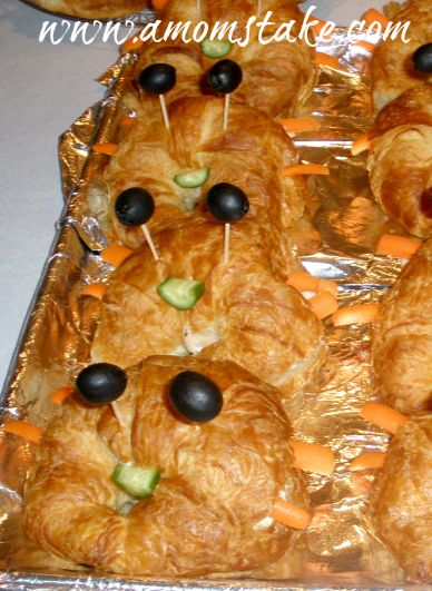 Crab Sandwiches #Party #Ideas