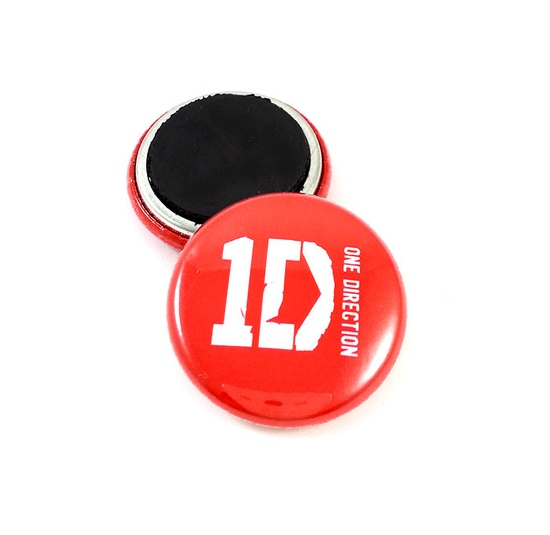 One Direction 1 Inch Locker / Fridge Magnet. $3.00, via Etsy.