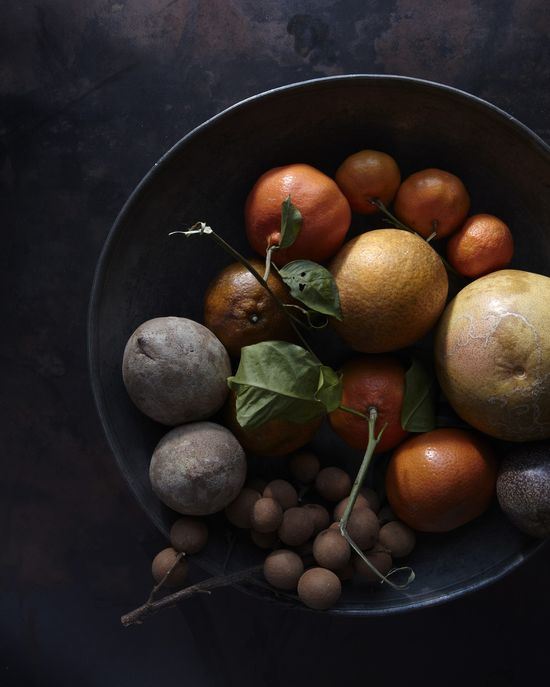 Muted tones. Fruit Still Life - Andrea Gentl