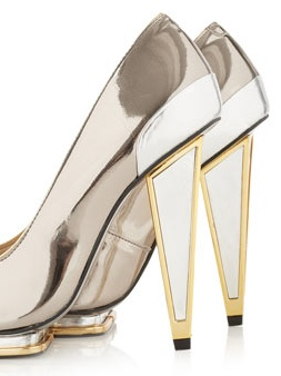 Topshop Plasma Premium Pointed Heels