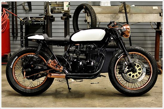 1976 Honda cb550f - 'Patina' - Pipeburn - Purveyors of Classic Motorcycles, Cafe Racers & Custom motorbikes