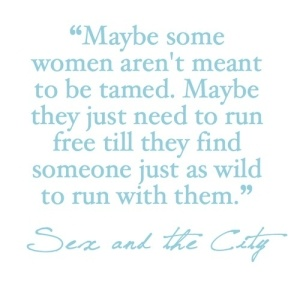 --Sex and the City