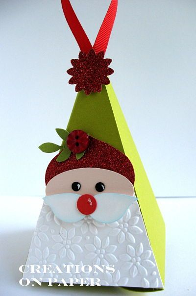 Creations on Paper: Petal Cone - Santa Elf