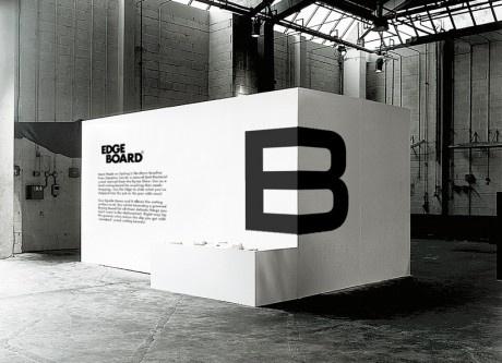 E and B on corner - EdgeBoard (Hampus Jagelund via Inspiration Lab)