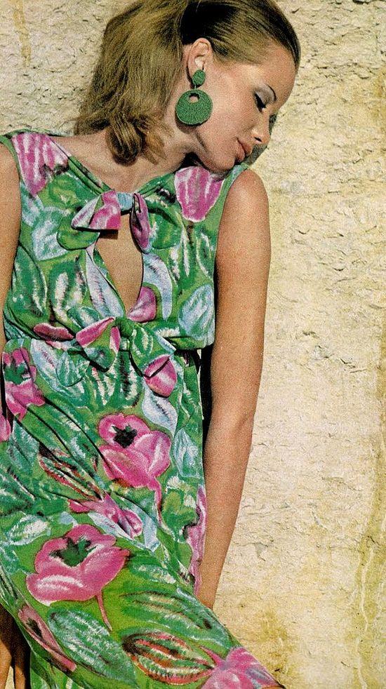 Veruschka, photo: Bert Stern for Vogue, 1965 (BB)