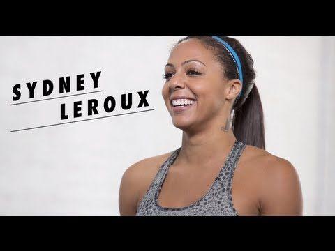 Sydney Leroux's 15-min NTC Gym Sculpt Workout - YouTube