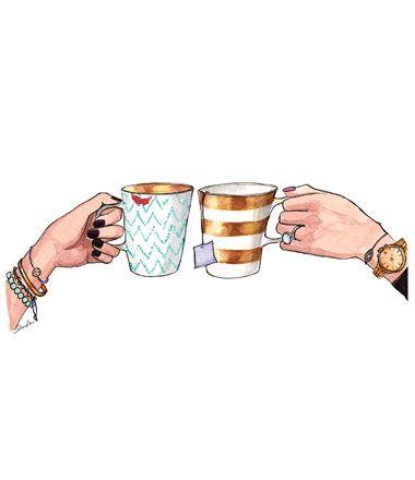 Friends- treasure time! Take a 15-30min break for coffee/tea chats., priceless. #coffeetalk #tea #coffee #teatime #friends #friendship #girlfriends #girlfriendsday