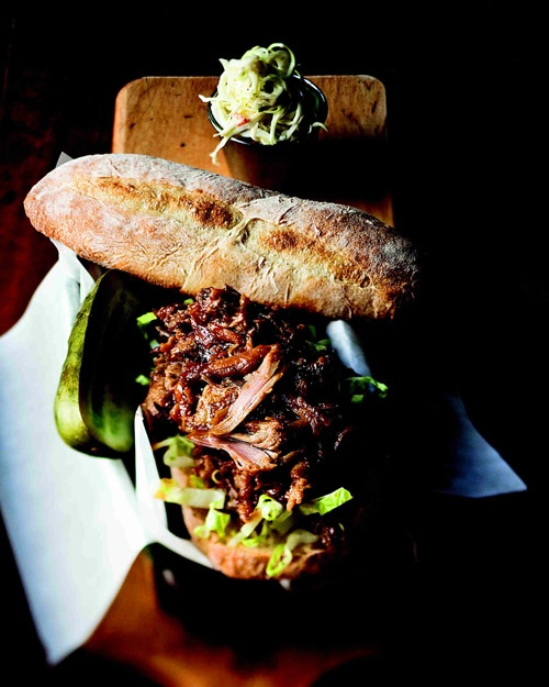 Barbecued Pork Sandwich Recipe