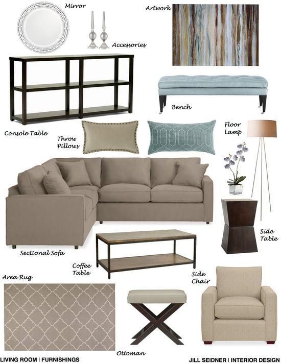 Interior Design Concept Development Boards