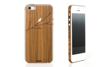 Toast Wood iPhone Cover