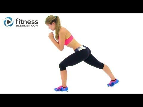 Bodyweight Cardio Workout - 23 Minute At Home Interval Cardio Training