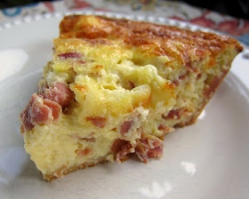 Plain Chicken: Serrano & Manchego Quiche