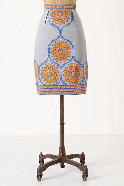 spring skirt.
