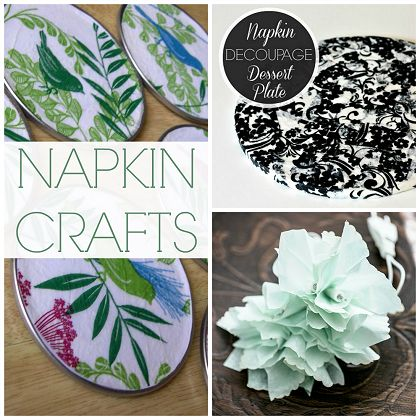 Napkin Crafts for Parties