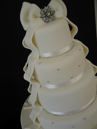 Simple and elegant! The Big Wedding Cake Company : Gallery