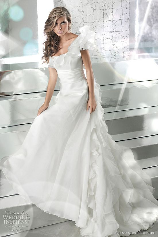 couture bridal gown 2011