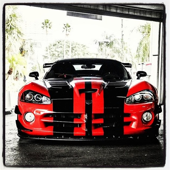 Dennis the menace Dodge Viper! What tricks is he Planning today?