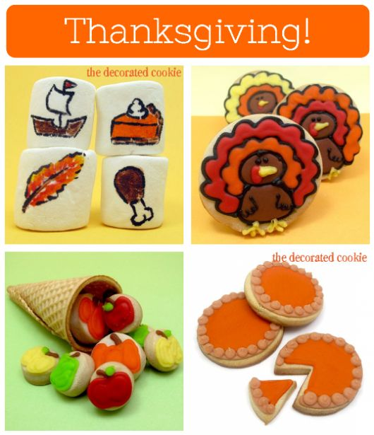 Flashback Friday: Thanksgiving - The Decorated Cookie