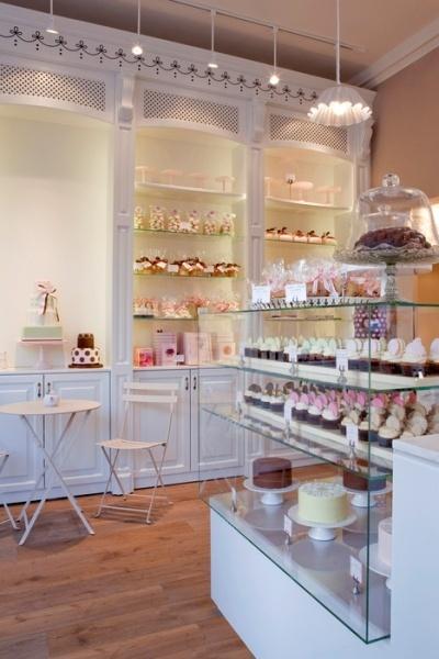 Bakery wall display